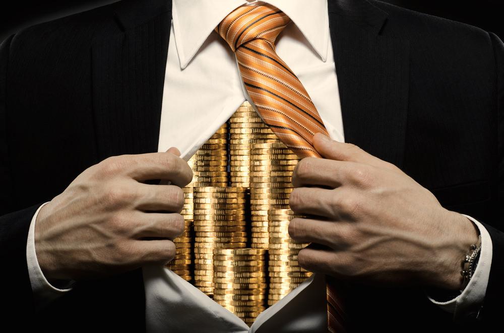 Earthly Money in Heavenly Bank